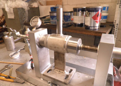 Made-to-measure test: Watertightness test for pressure equipment